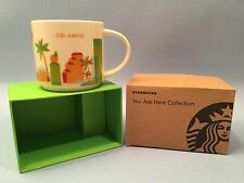 STARBUCKS ORLANDO You Are Here Collection CUP/MUG New in Box! Free Shipping!