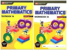 Primary Mathematics 1A Bundle (Textbook+Workbook) (CC Edition) - FREE SHIPPING