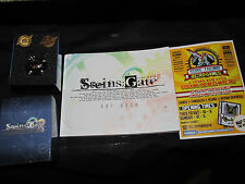 Steins Gate El Psy Kongroo Limited  Pin Badges+ Art book,free p&p in UK