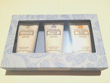 NEW CRABTREE AND EVELYN 3 PCS ULTRA-MOISTURIZING HAND THERAPY SET