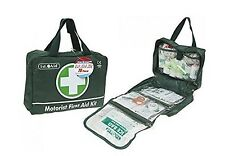 Deluxe Motorists home Medical First Aid Kit 70 Piece Complete Green 1st Aid Box