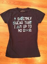 "Harry Potter Girl's T Shirt "" Solemnly Swear I Am Up To No Good"" Large 12-14"