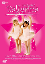 HOW TO BE A BALLERINA - DVD - REGION 2 UK