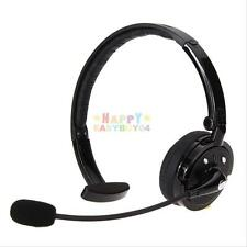 Over The Head Boom Mic Wireless Bluetooth Stereo Headset Headphone For PC iPhone