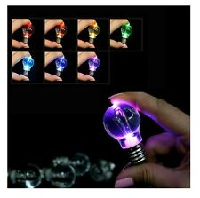 DE - 7 different colors LED Flash Lights Mini Bulb Torch Key Chain Keyring