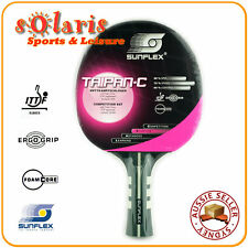 SUNFLEX TAIPAN-Concave Competition Table Tennis Bat with Foam Core 10340