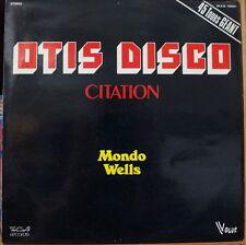 MONDO WELLS/OTIS REDDING OTIS DISCO CITATION 45 TOURS GEANT FRENCH LP