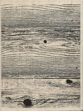 """Woodgrain Background"" Rubber Stamp by Stampabilities"