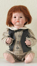 "SFBJ  252 ""Pouty"" Bébé boudeur 38 cm  Poupée Ancienne Reproduction Antique Doll"