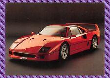 Carte postale - Ferrari - F40