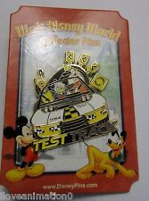 Disney Pin Pics 57809 WDW Mystery Fab 5 Goofy Mickey Mouse Test Track Pin