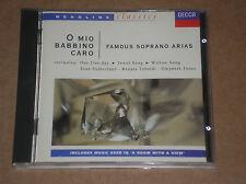 FAMOUS SOPRANO ARIAS - O MIO BABBINO CARO - CD COME NUOVO (MINT)