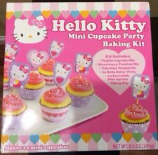 Hello Kitty Mini Cupcake Party Baking Kit Makes 24