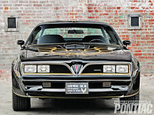 1978 Pontiac Trans AM Black (Front) POSTER 24 X 36 INCH