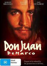 DON JUAN DeMARCO starring Johnny Depp Region 4 DVD