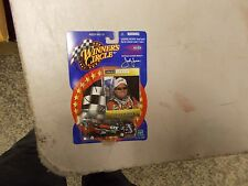 2001 WINNERS CIRCLE JOHN FORCE CASTROL GTX CAR AUTOGRAPHED ON CARD FROM RACE