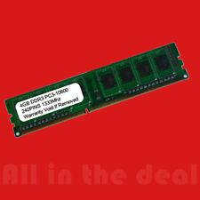 4GB PC3-10600 DDR3 1333MHz 240 pin DESKTOP Memory Non ECC 1333 Low Density RAM