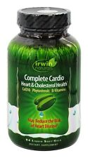 Irwin Naturals Complete Cardio Heart & Cholesterol Health - 84 Soft-Gels