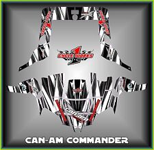 Can-am Commander 800 1000 Canam Can am  SEMI CUSTOM GRAPHICS KIT Streek2