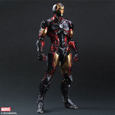 "Avenger Marvel Universe Play Arts Kai Iron Man Action Figure toys 10"" PVC statue"
