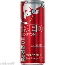 12 Dosen a 250 ml Red Bull Red Edition Lime Energy Orginal incl. Pfand Cranberry
