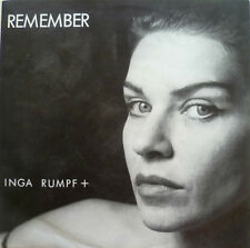 "7"" 1985 IN MINT- ! INGA RUMPF : Thank You + Remember"