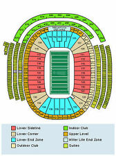 Green Bay Packers vs Detroit Lions Tickets 12/28/14 (Green Bay)