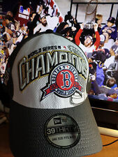 Boston Red Sox 2013 World Series Champions On-Field Locker Room Player Hat Cap B