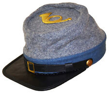 American Civil War Confederate Infantry Style Kepi With Badge Medium 56/57cms