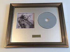 SIGNED/AUTOGRAPHED YOUNG THE GIANT - MIND OVER MATTER CD FRAMED PRESENTATION
