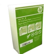 "HP CG465a Vivid White Printer Photo/Picture Paper 4""x6"" Matte 180 Sheets New"