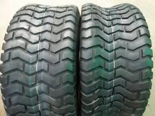 TWO 16/6.50-8 and TWO 23/10.50-12 JD Sabre 2148 Garden Tractor Turf  ply Tires