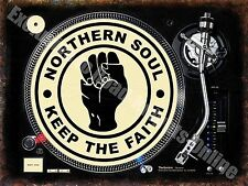 Northern Soul Keep the Faith 145, Dj Decks Music Records, Small Metal/Tin Sign