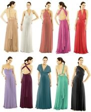 Lot of 10 (YOUR COLOR CHOICE) Infinity Long Dress/Gown + 1 FREE Gown!!!