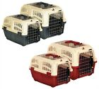 PET CARRIER PUPPY, DOG,CAT , KITTEN & RABBIT TRAVEL TRANSPORT CAGES