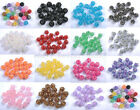 20pcs Sparkling AB Resin Rhinestones Round Ball Spacer Beads Colors To Choose