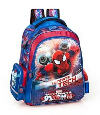 Spider-Man Backpack Rucksack Large School Travel Kids Boys Bag Ultimate Blue