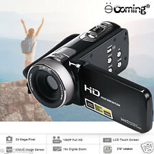 "Full 1080P 24MP Digital Video Camcorder Camera DV 3""LCD 16X Zoom IR Night Vision"