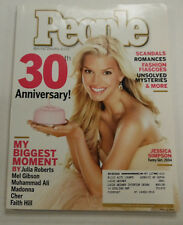 People Magazine Jessica Simpson 30th Anniversary April 2004 101714R2