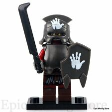 Custom Uruk-hai Saruman's Orc LOTR Minifig fits with Lego pg520 UK Seller Hobbit