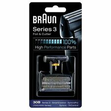 Braun 10B/20B [1000/2000 Series] Replacement Foil/Cutter Fits Series 1 CruZer