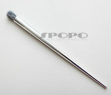 Silver Cosmetic Makeup Tapered Crease Blending Eye Brush - Synthetic Hair S04