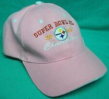 Pittsburgh Steelers Pink hat 2005 Superbowl XL
