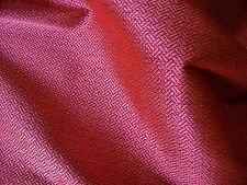 FRENCH SOFT SUITING CHEVRON-SALMON PINK/BLACK -DRESS FABRIC-FREE P&P