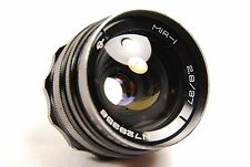 "Rare MIR 1 ""Grand Prix Brussels 1958"" 37mm f/2.8 Wide Angle M42 Lens"