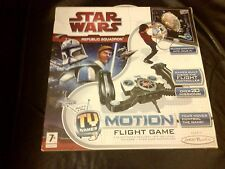STAR WARS CLONE WARS REPUBLIC SQUADRON TV GAME BOXED WORKING ANAKIN OBI WAN YODA