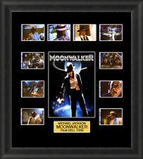 MICHAEL JACKSON MOONWALKER 1988 MOUNTED FRAMED 35MM FILM CELL MEMORABILIA