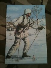 Military Postcard 2nd Royal Regiment of Fusiliers 1991 by Alix Baker