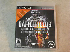 Battlefield 3 Limited Edition (Sony PlayStation 3, 2011)