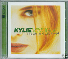 KYLIE MINOGUE GREATEST REMIX HITS VOL 4 REMASTERED 2 DISCS MUSHROOM MUSH33104.2